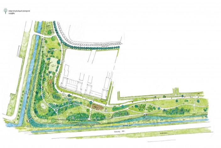 Aanleg Parkwal Wilgenrijk Maassluis : recreatie en wonen in rust