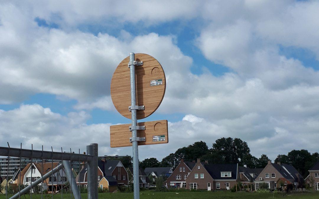 Duurzame verkeersborden in Wilgenrijk Maassluis
