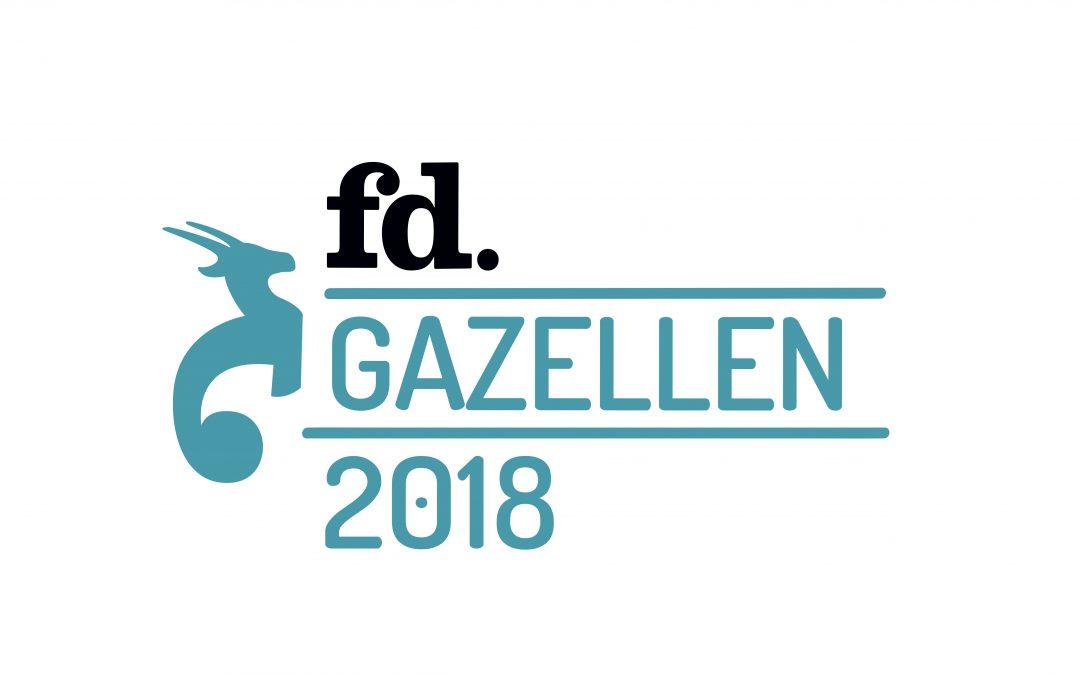 Gebiedsmanagers verkozen tot FD Gazelle 2018!