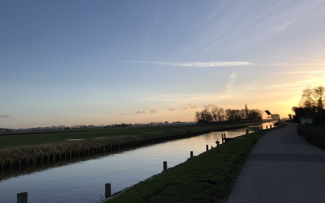 Ophoging van de Lange Wateringkade, Honselersdijk